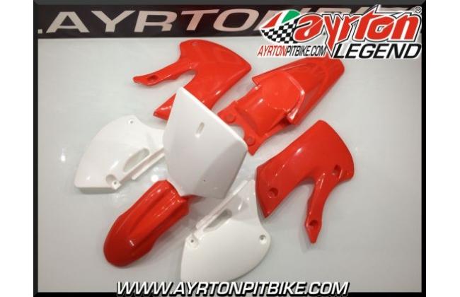 Plastic Kit Pit Bike Klx Red