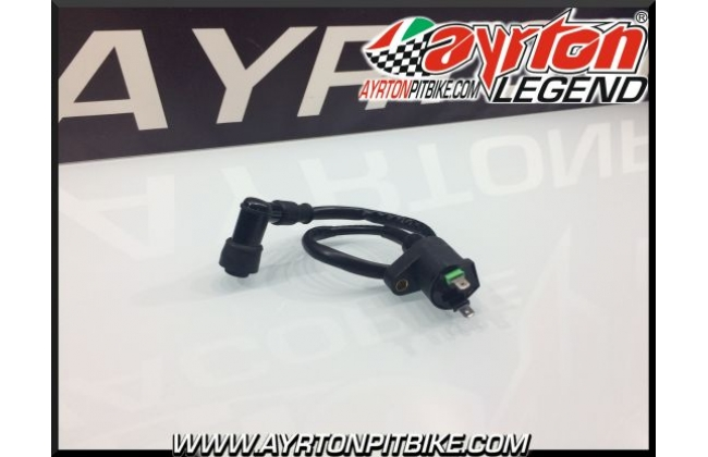 Coil With Cable And High Performance Pit Bike Shielded Silicone Pipette