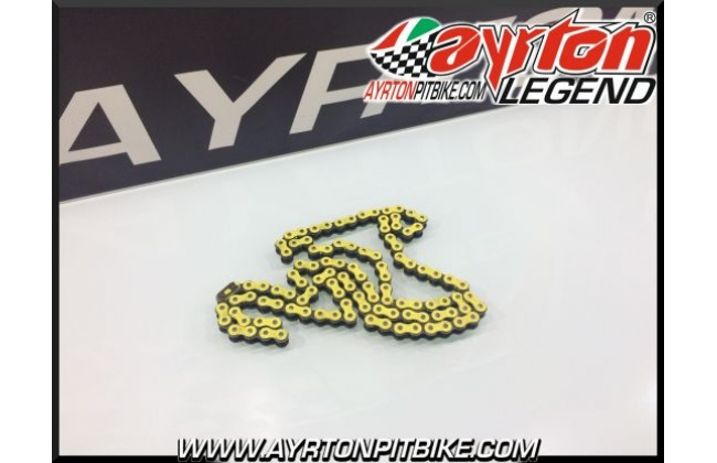 Transmission Chain Race 420 Yellow 108l