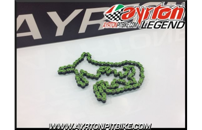 Transmission Chain Race 420 Green 108l
