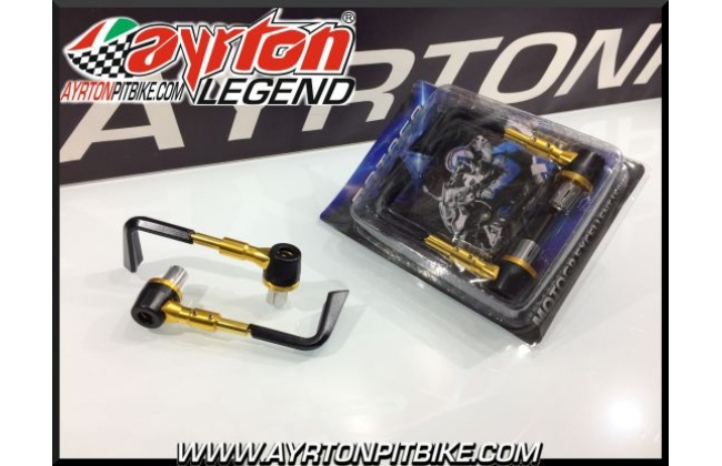 Gold-colored Pitbike Snow Guard