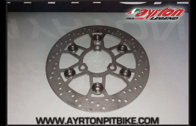 Floating Brake Disc 220 Mm Pitbike Made In Italy Round Exterior