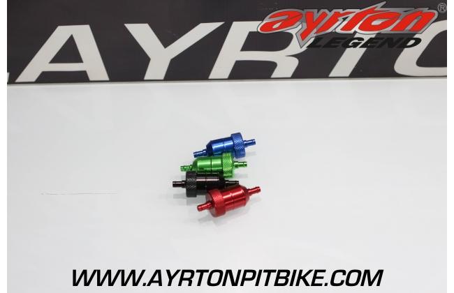 Oversized Pit Bike Aluminum Fuel Filter