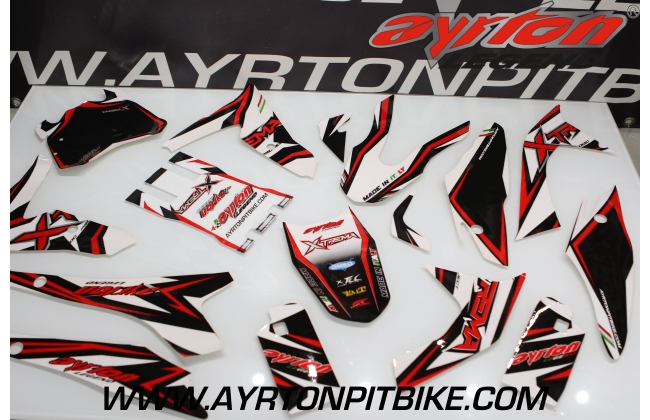 Graphics Pit Bike Xtrema red