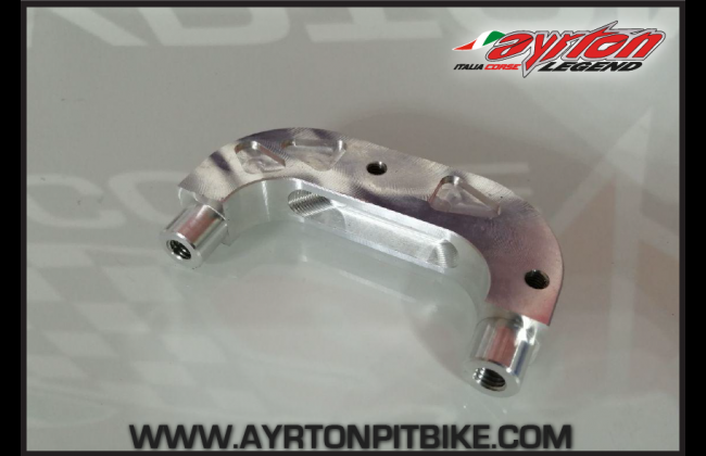 4 Piston Radial Formula Caliper Bracket Adapter For Pitbike Fork Foot
