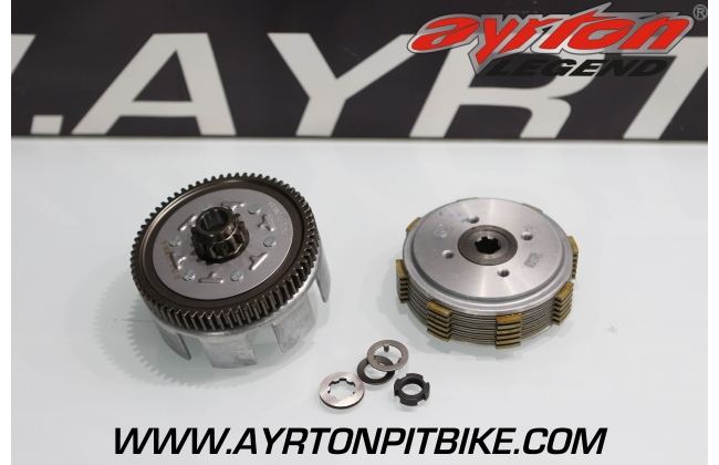 CLUTCH 6 DISKS FOR PITBIKE ENGINES ZONGSHEN ZS 190