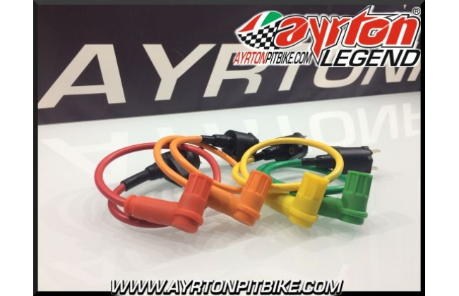 Coil With Cable And Silicone Pipette Shielded Pit Bike High Performance Various Colors