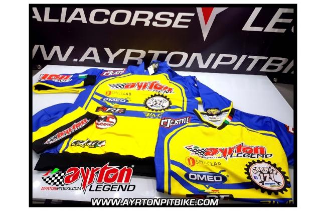 Pit Bike Clothing Ayrton Team Racing