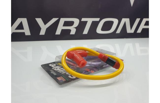 Yellow Splitfire Twin Core Pitfire Bike Cable
