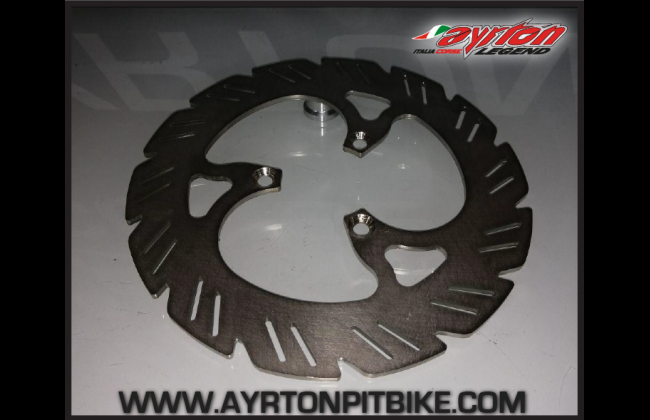 Front Brake Disc 220 Mm Pitbike Made In Italy