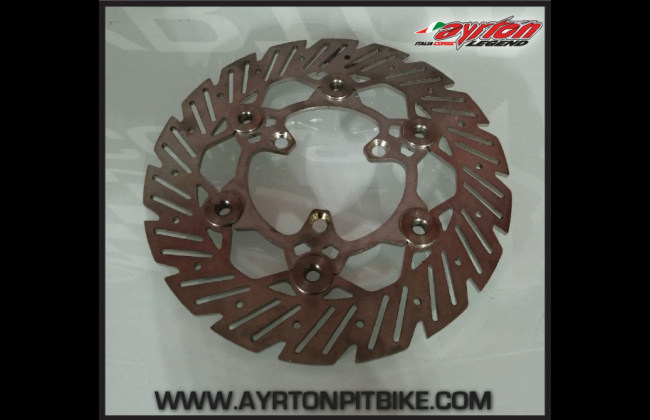 Floating Brake Disc 220 Mm Pitbike Made In Italy
