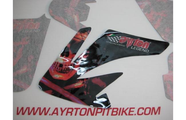 Pit Bike Graphics Ayrton Legend Combat