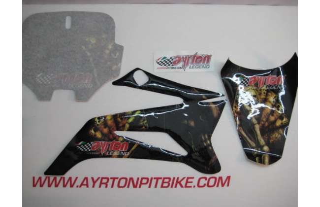 Pit Bike Graphics Ayrton Legend Dragon