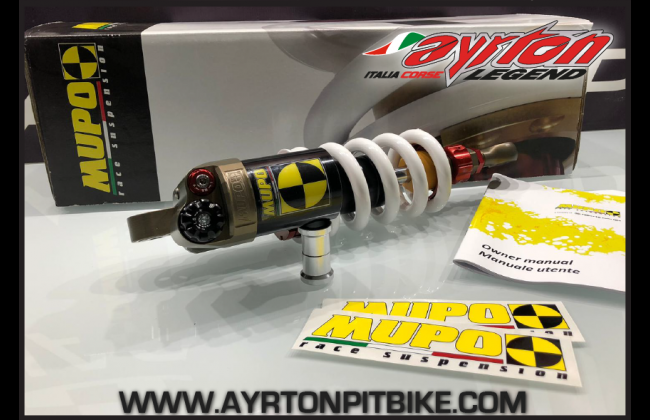 Pitbike Monoshock Abupo Ab1 Top Of The Range Made In Italy