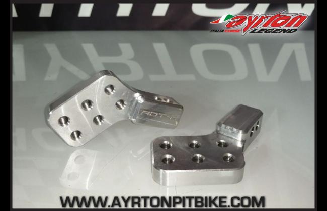 Multi Adjustable Pit Bike Footpeg Supports
