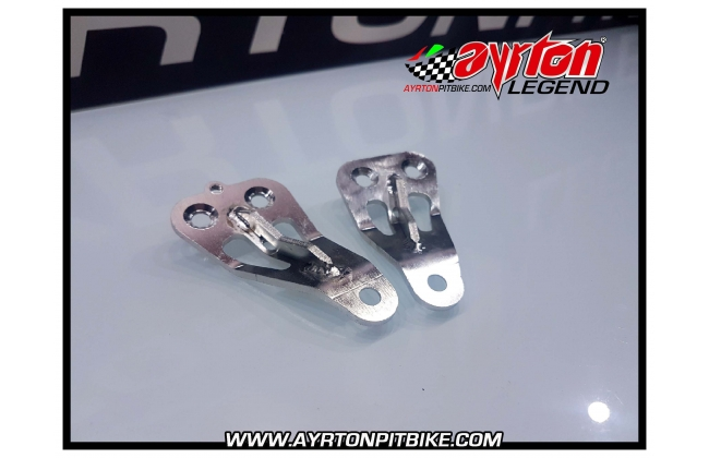 Motard Pitbike Footboard Supports