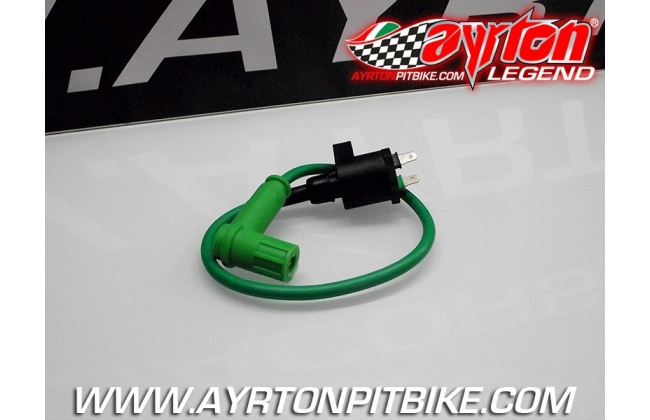 Coil With Cable And Green Shielded Pipette