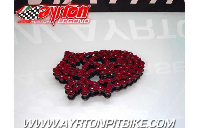Transmission Chain Race 420 Red 108l