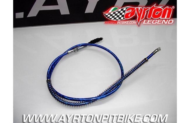 Blue Pit Bike Clutch Cable