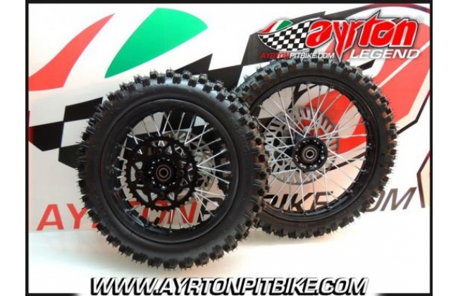 14/12 Wheeled Cross Pit Bike Tires Ready For Use