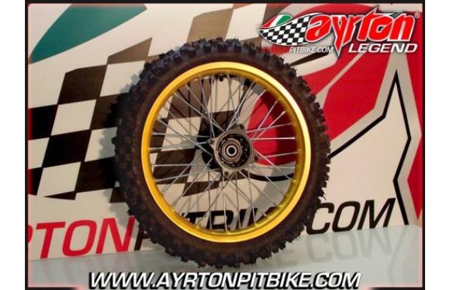 Front Rim Alu Gold 14 Pit Bike