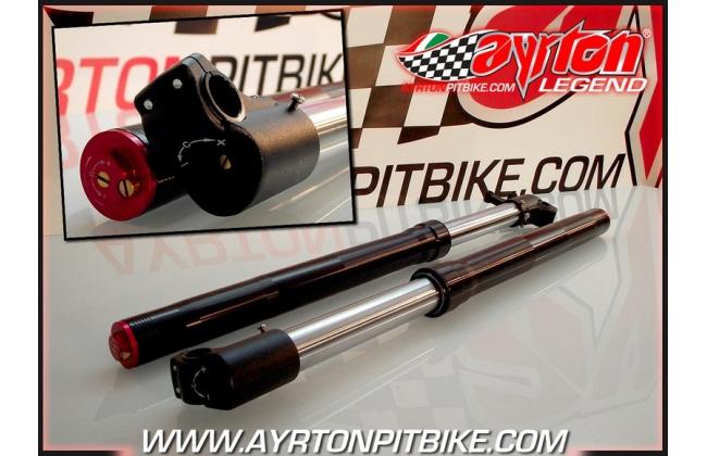 Adjustable Pit Bike Forks K2 730 D38 Black