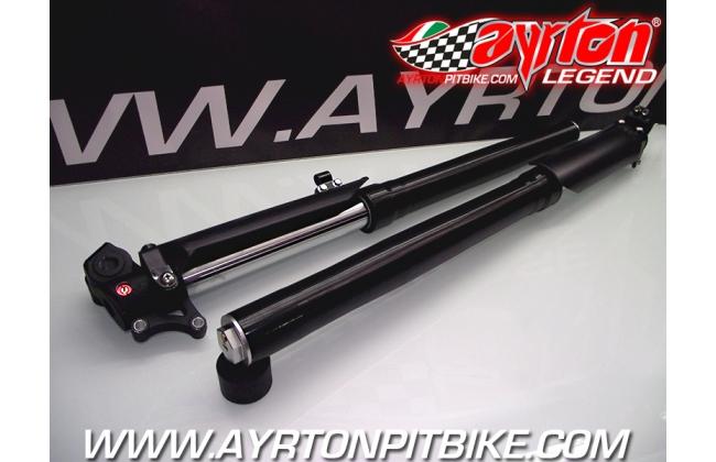 Forks K4-s Pit Bike Adjustable 730 D37 Black