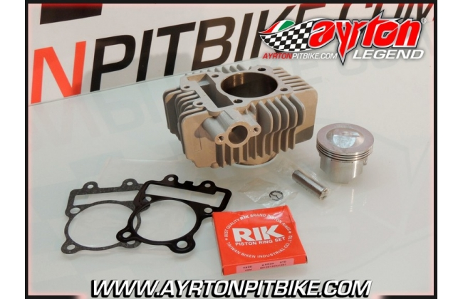 Nicasil Cylinder Kit + 65mm High Compression Piston Yx 150/160 And Zs155 Pit Bike