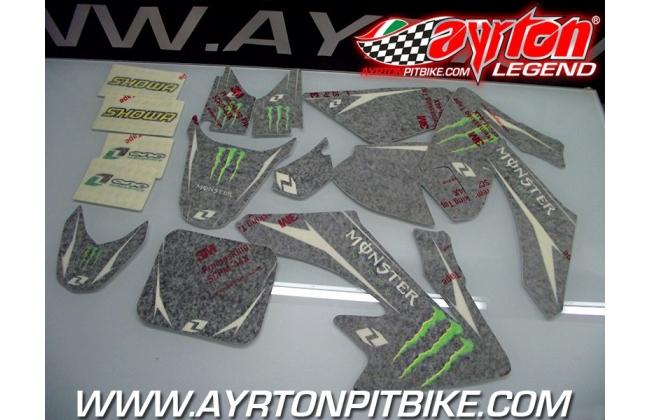 Pit Bike Monster Energy Crf 50 Graphic Kit