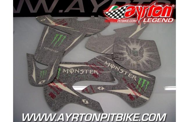 Graphic Kit Pit Bike Monster Energy Klx