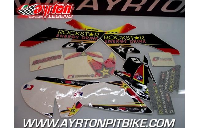 Pit Bike Graphic Kit Rockstar Crf 50