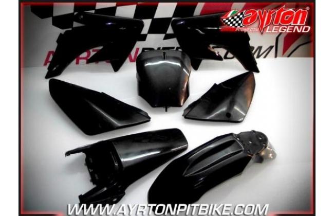 Plastic Kit Crf70 Style Pit Bike Black