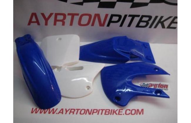 Plastic Bicycles Klx Style Bicolor Blue