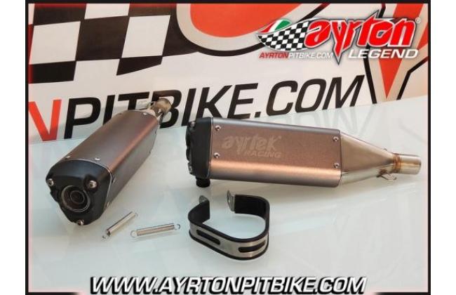 Tailpipe Ayrtek Racing Pit Bike