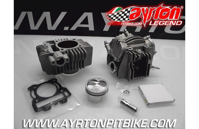 4v Head Kit With 60mm High Compression Piston And Nicasil Cylinder