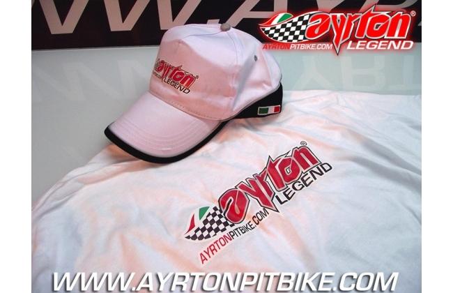 Jersey And Cap Ayrton Legend Pit Bike