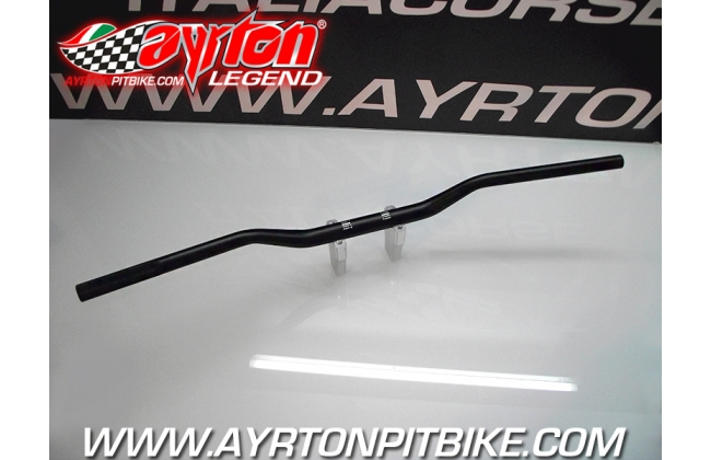 Handlebar Low Bend Top Motard Double Section 22/28 Pit Bike