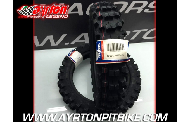 Pit Bike Cross Mitas C-20 Tire 80 / 100-12