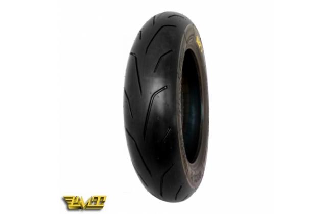 Pmt Black Fire Rubber Front 100 / 90-12 (choose Compound)