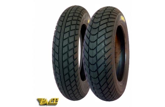Train Tires Pmt Rain 100/90 12 + 120/80 12 (choose The Compound)