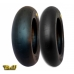 * On Offer With Free Shipping - Pmt Slick 100/90 12 + 120/80 12 Tire Train (choose The Compound Of The Tires)