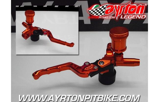 15 Cnc Front Brake Master Cylinder With Pit Bike Adjustable Lever
