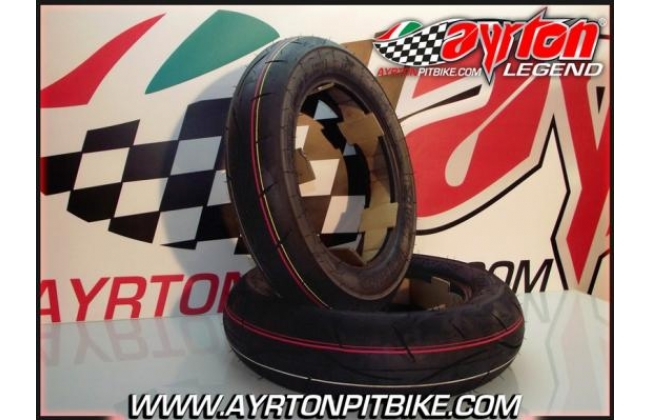 Pair Of Sava Mc31 Pit Bike Tires