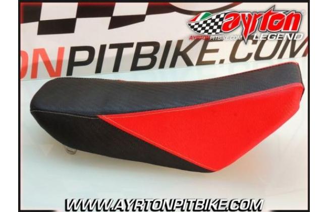 Saddle Klx Bicolor Red Black