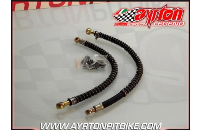 Pit Bike 8 Radiator Pipes With Heat Shield