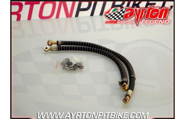 Pit Bike 10 Radiator Pipes With Heat Shield