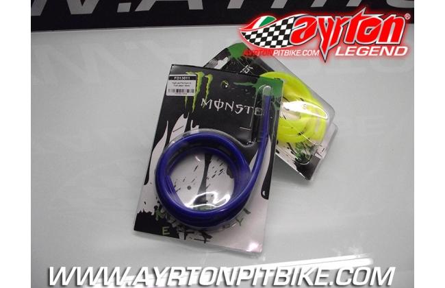 Blue Pit Bike Silicone Fuel Hose