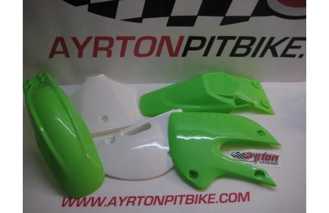 Plastic Klx Style Bicolor Green