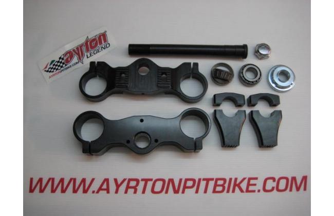 Cnc Aluminum Steering Plates Kit