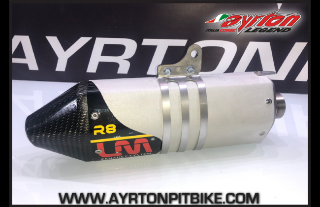 Pitbike Exhaust Terminal Lm R8